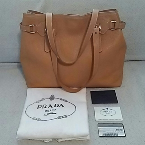 Prada Bags   Leather Tote Bag   Poshmark ddc868b582